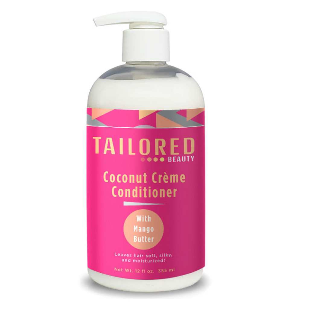Tailored Beauty Coconut Crème Conditioner with Mango Butter (12 oz.)