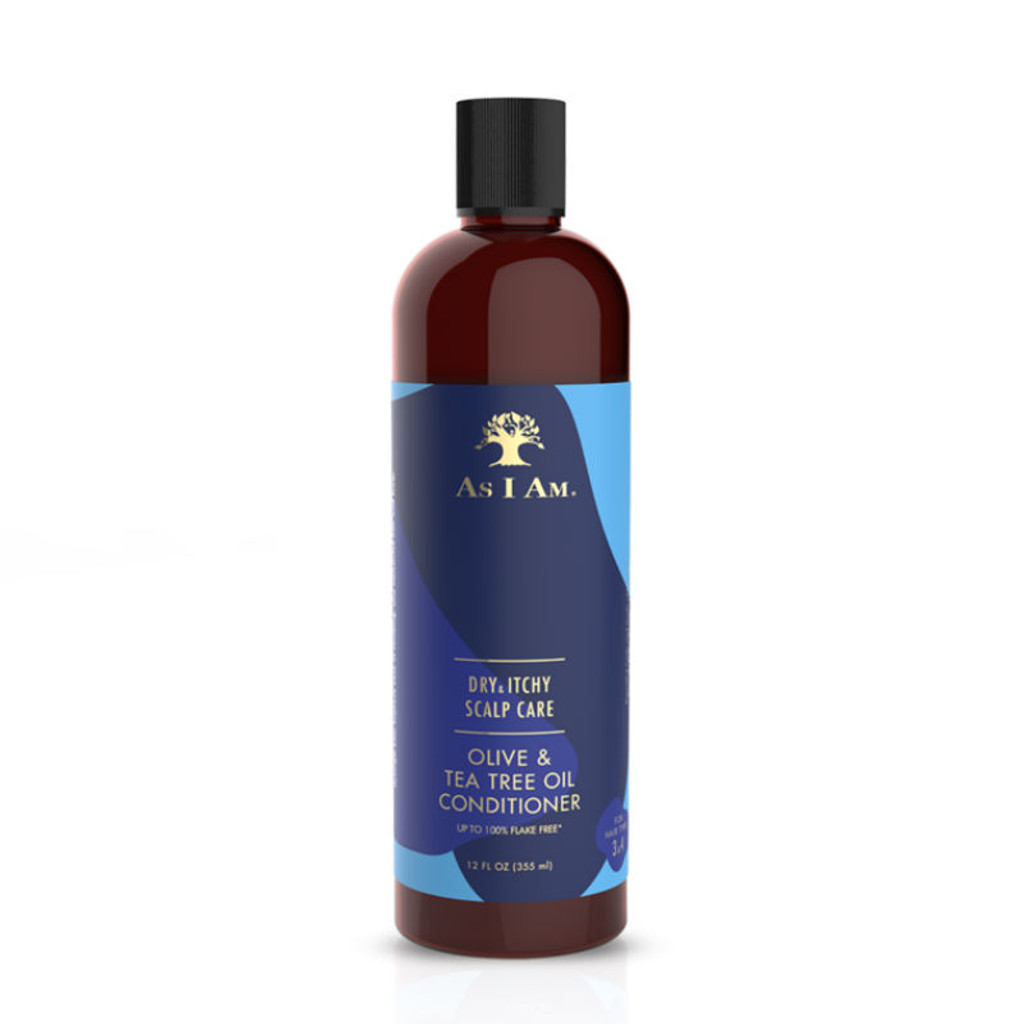 As I Am Dry & Itchy Scalp Care Olive & Tea Tree Oil Conditioner (12 oz.)