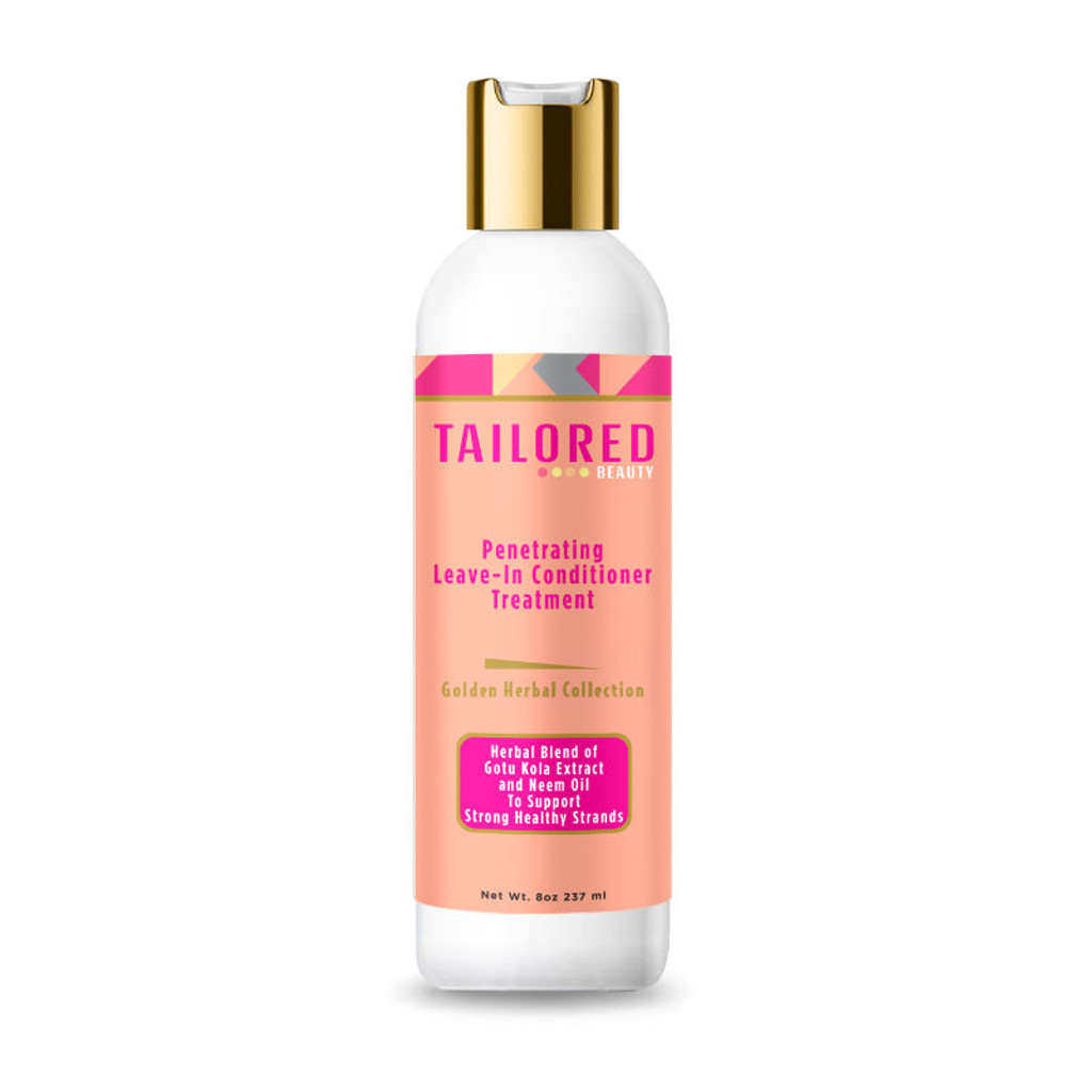 Tailored Beauty Golden Herbal Collection Moisture Penetrating Leave-In Conditioner Treatment (8 oz.)