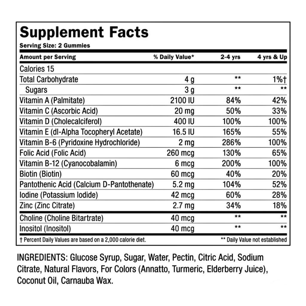 The Mane Choice Manetabolism Kids Gummy Vitamins (60 ct.)