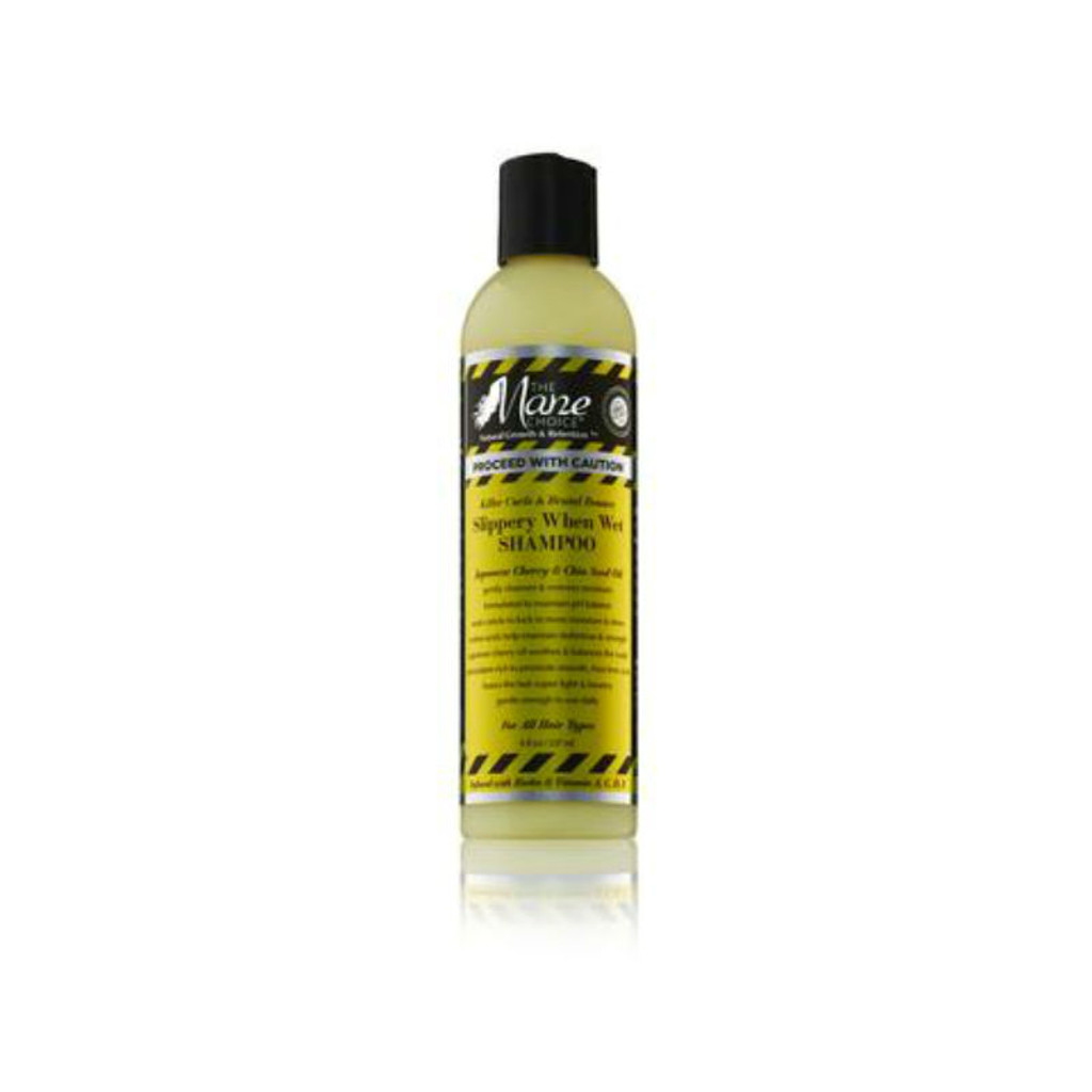 The Mane Choice Proceed With Caution Killer Curls & Brutal Bounce Slippery When Wet Shampoo (8 oz.)