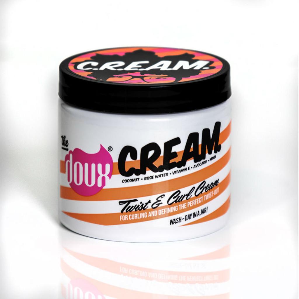 The Doux C.R.E.A.M. Twist & Curl Cream (8 oz.)