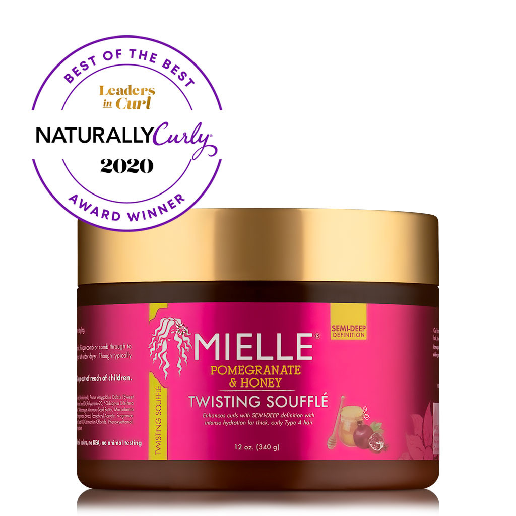 Mielle Organics Pomegranate & Honey Twisting Soufflé (12 oz.)