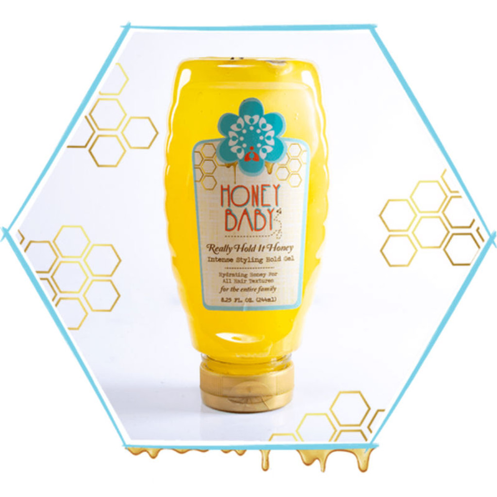 Honey Baby Naturals Really Hold It Honey Intense Hold Styling Gel (8.25 oz.)