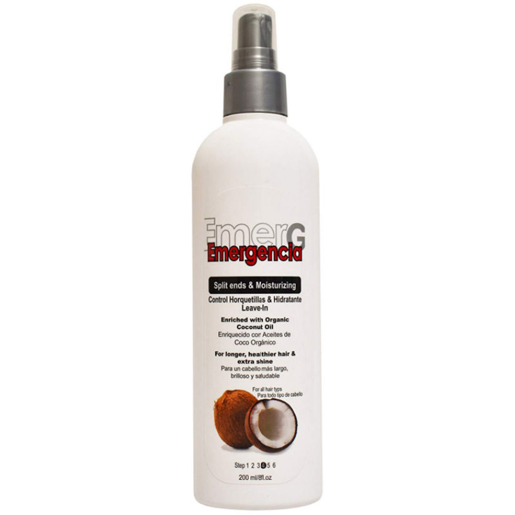 Emergencia Split Ends and Moisturizing Coconut Leave In Conditioner (8 oz.)