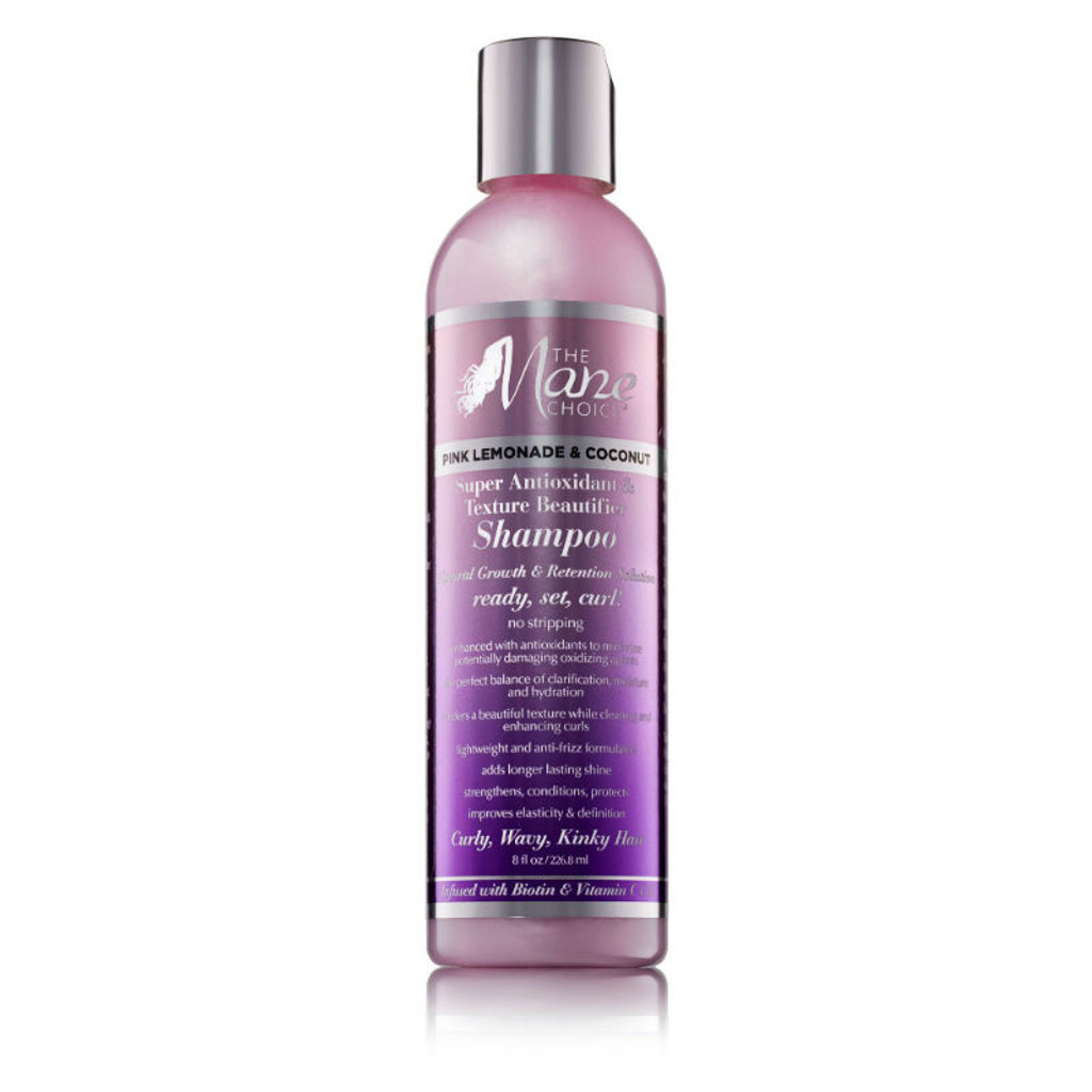 The Mane Choice Pink Lemonade & Coconut Super Antioxidant & Texture Beautifier Shampoo (8 oz.)
