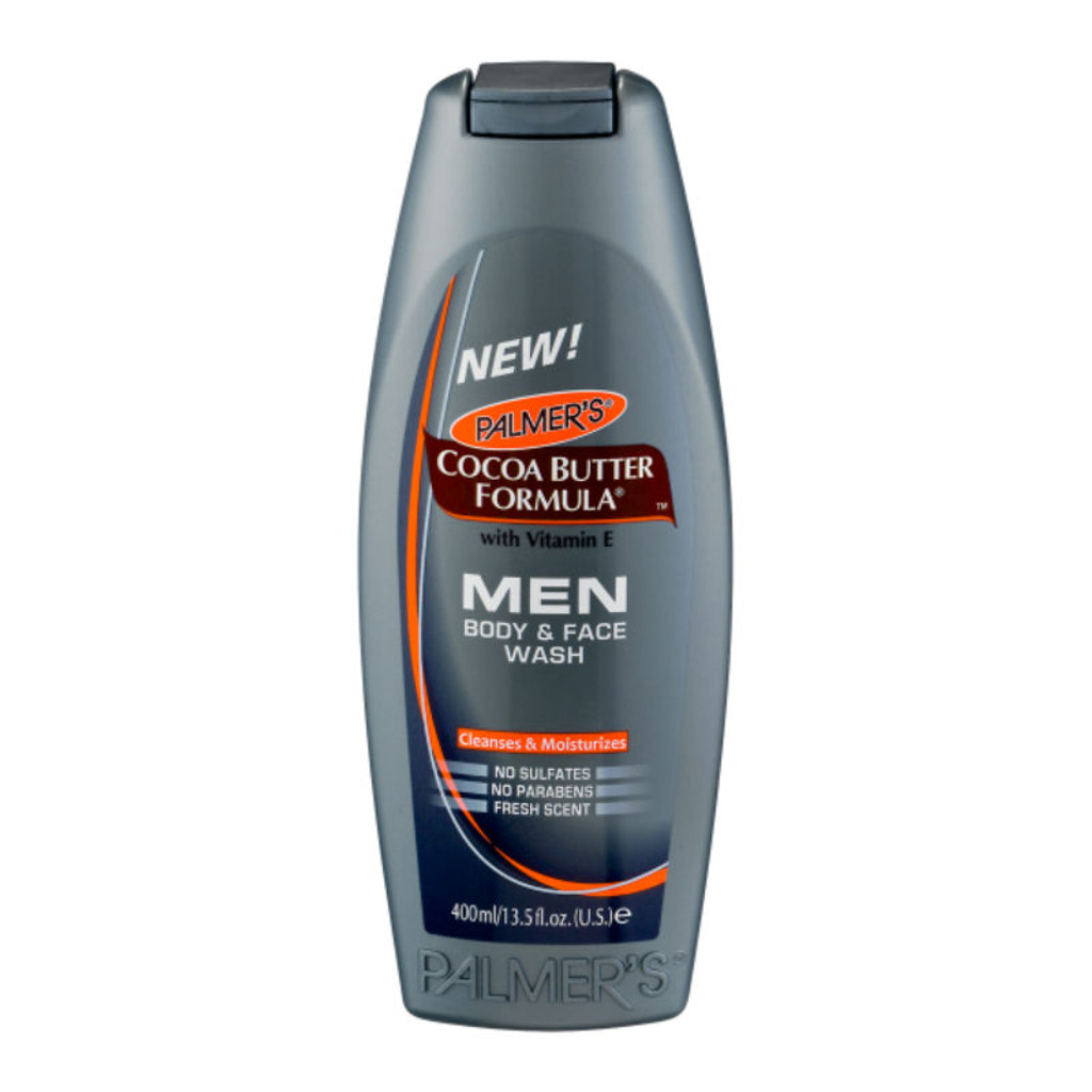 Palmer's Cocoa Butter Formula MEN Body & Face Wash (13.5 oz.)