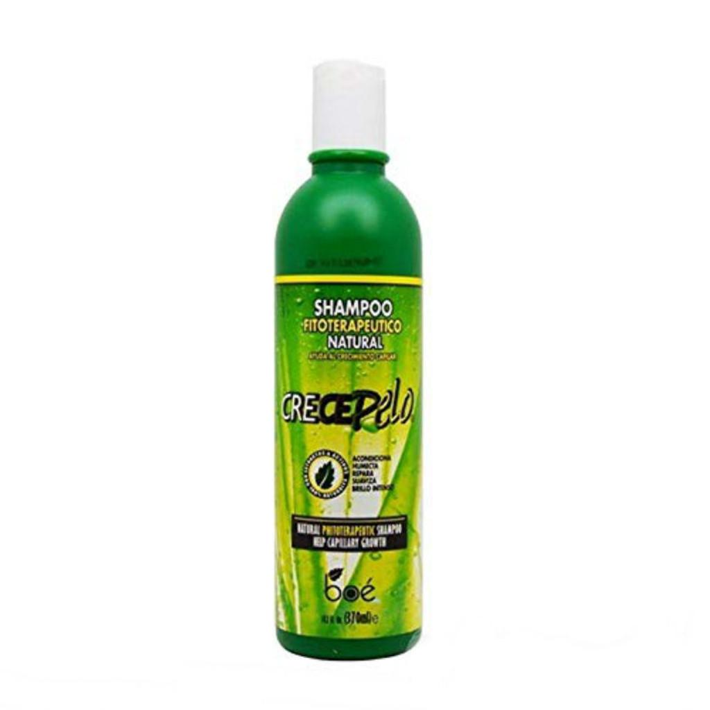 Crece Pelo Natural Fitoterapeutico Shampoo (12.5 oz.)