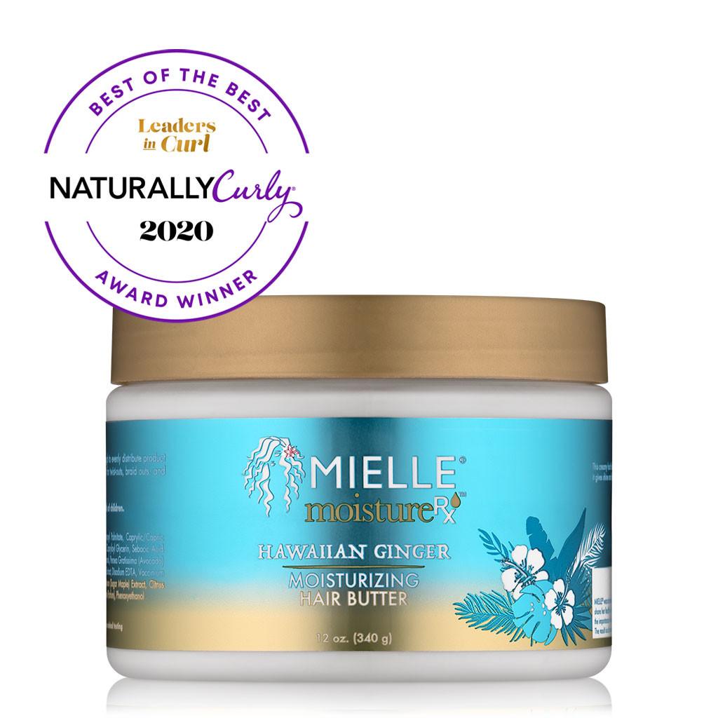 Mielle Organics Moisture RX Hawaiian Ginger Moisturizing Hair Butter (12 oz.)