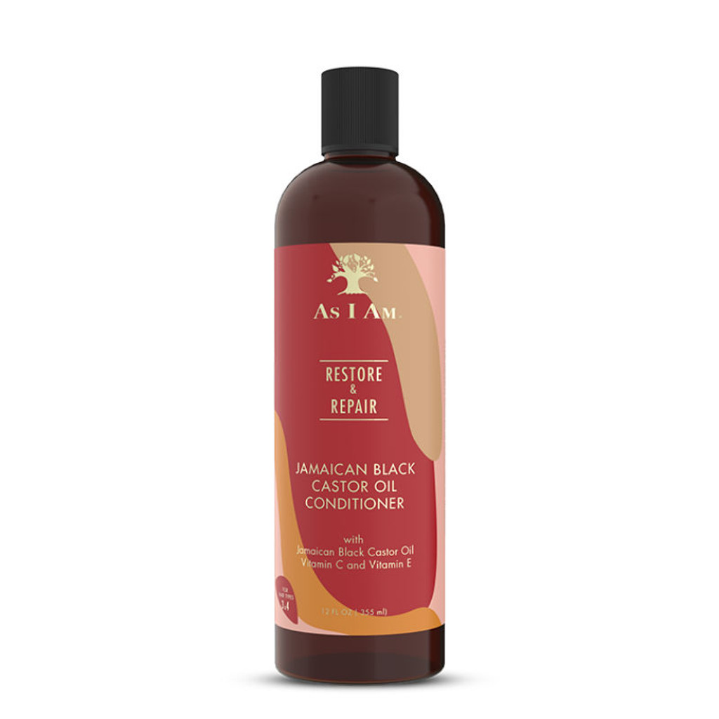 As I Am Restore & Repair Jamaican Black Castor Oil Shampoo (12 oz.)