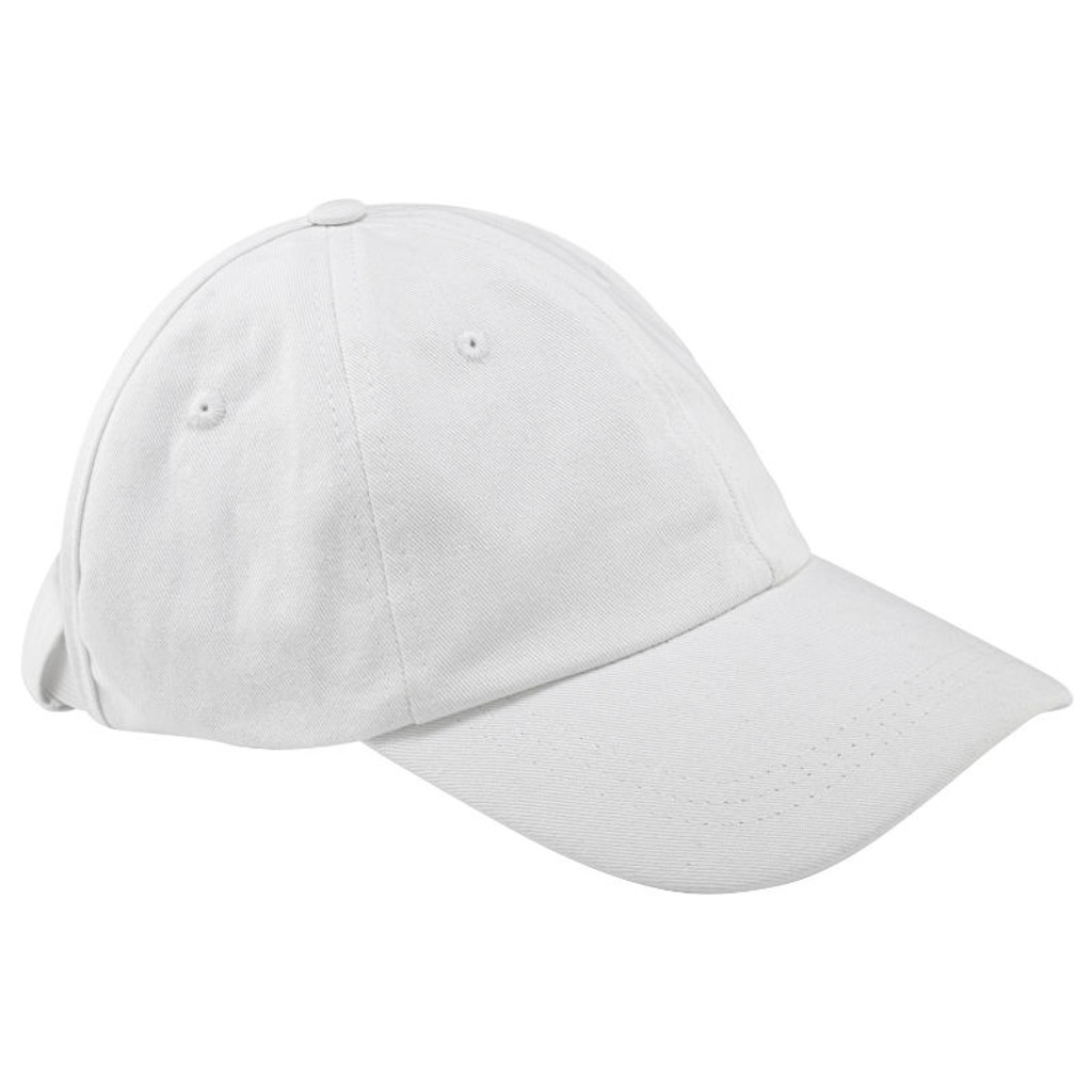 Curly Hair Solutions Curl Keeper BADAZZ Backless Curl Cap - Cotton White