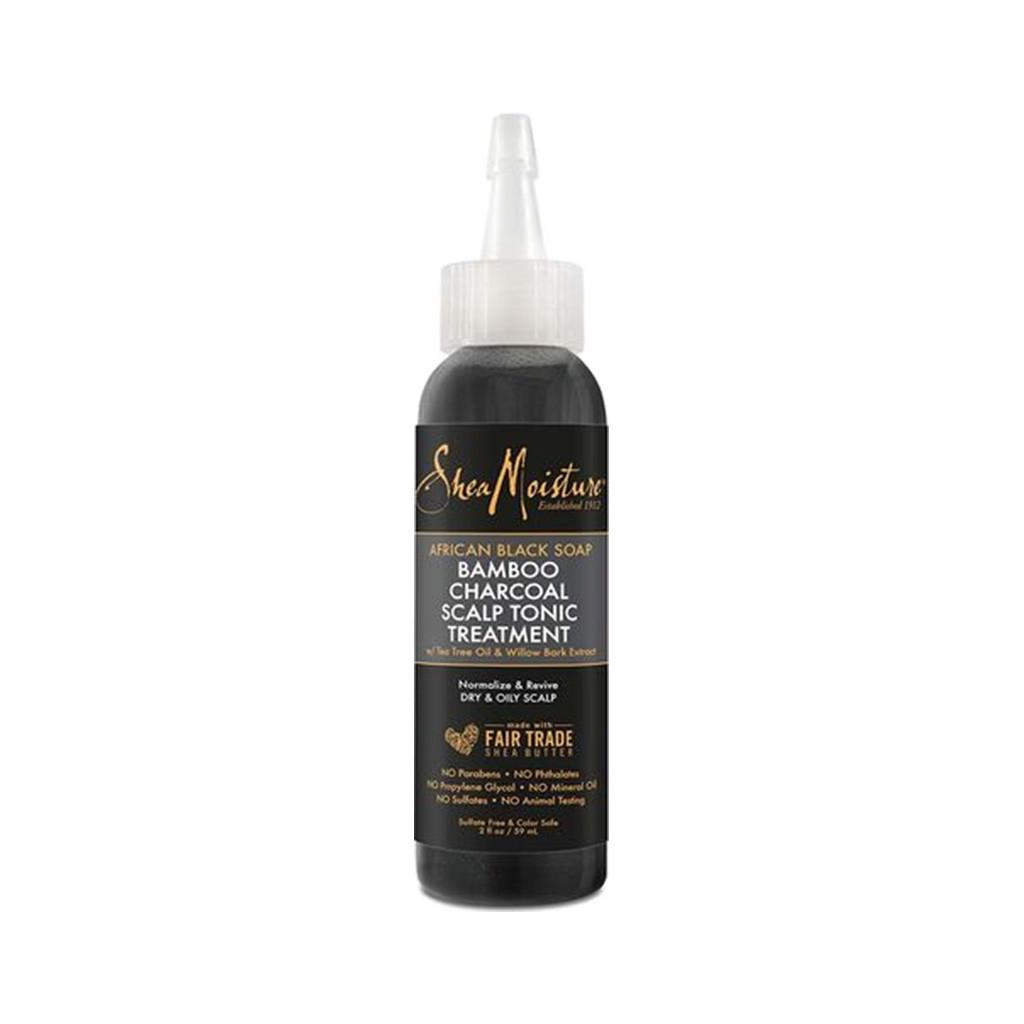 SheaMoisture African Black Soap Bamboo Charcoal Scalp Tonic Treatment (2 oz.)