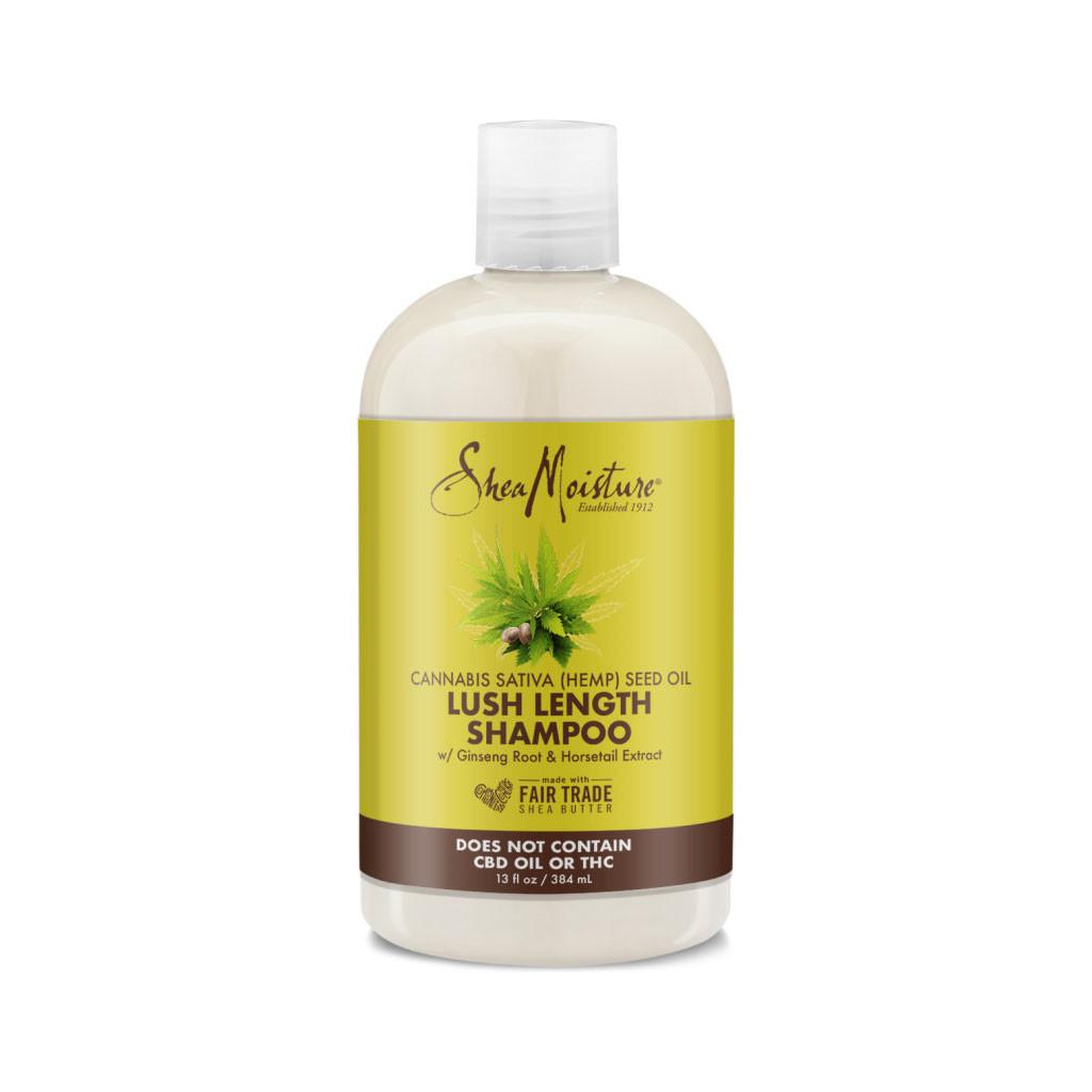 SheaMoisture Cannabis Sativa (Hemp) Seed Oil Lush Length Shampoo (13 oz.)