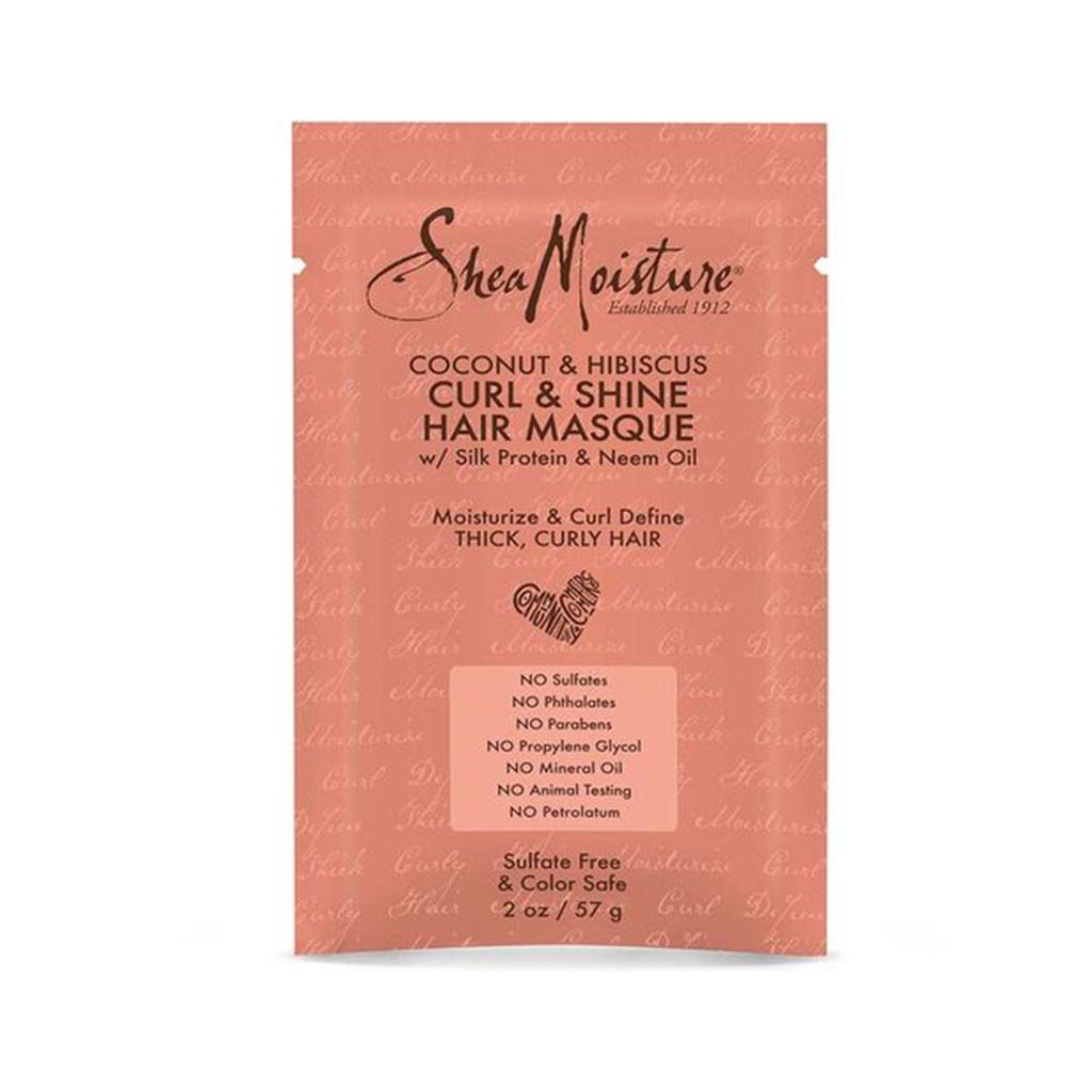SheaMoisture Coconut & Hibiscus Curl & Shine Hair Masque Packette (2 oz.)