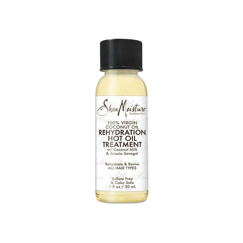 SheaMoisture 100% Virgin Coconut Oil Rehydration Hot Oil Treatment (2 - 1 oz.)
