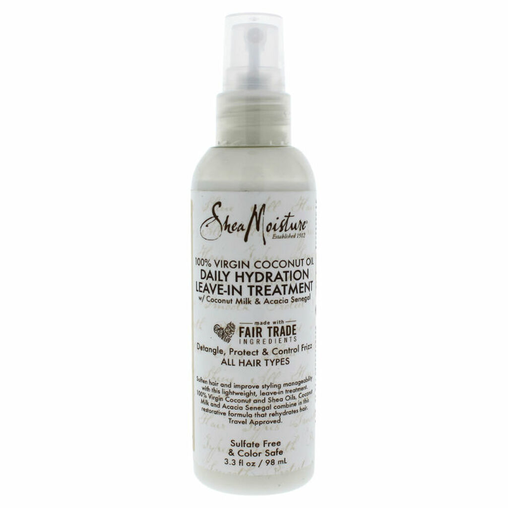 SheaMoisture 100% Virgin Coconut Oil Leave-In Treatment Trial & Travel Size (3.2 oz.)