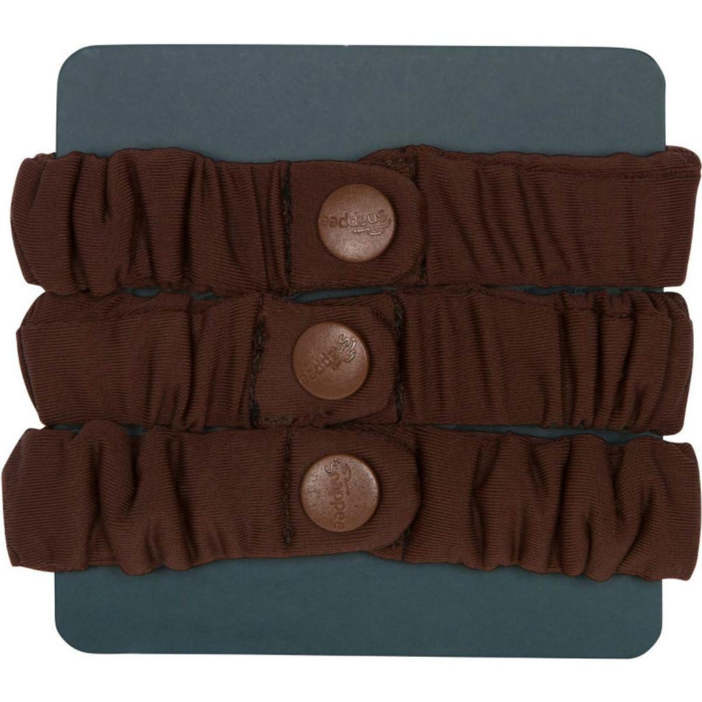 SwirlyCurly Brown Afro Puff Scrunchies (3 ct.)