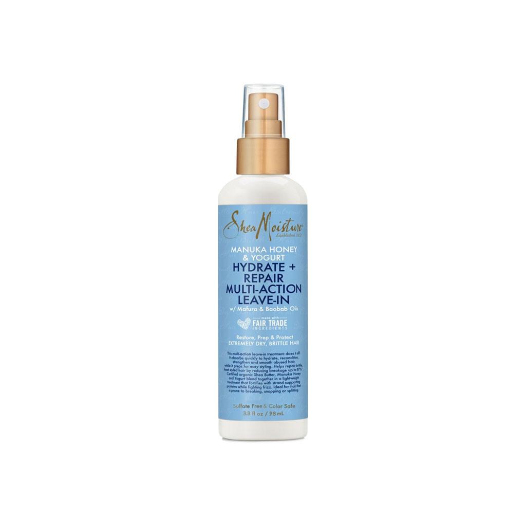 SheaMoisture Manuka Honey & Yogurt Hydrate + Repair Multi-Action Leave-In Travel Size (3.3 oz.)
