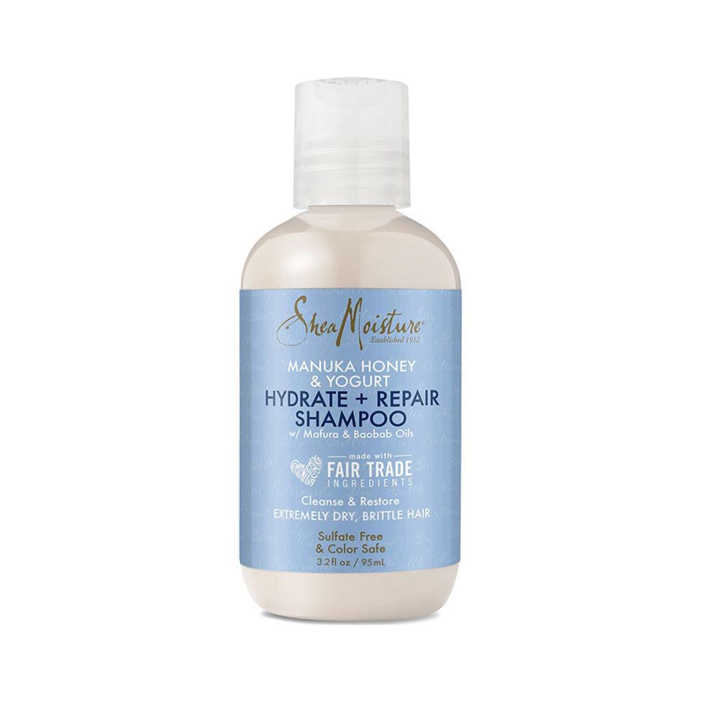 SheaMoisture Manuka Honey & Yogurt Hydrate + Repair Shampoo Travel Size (3.2 oz.)