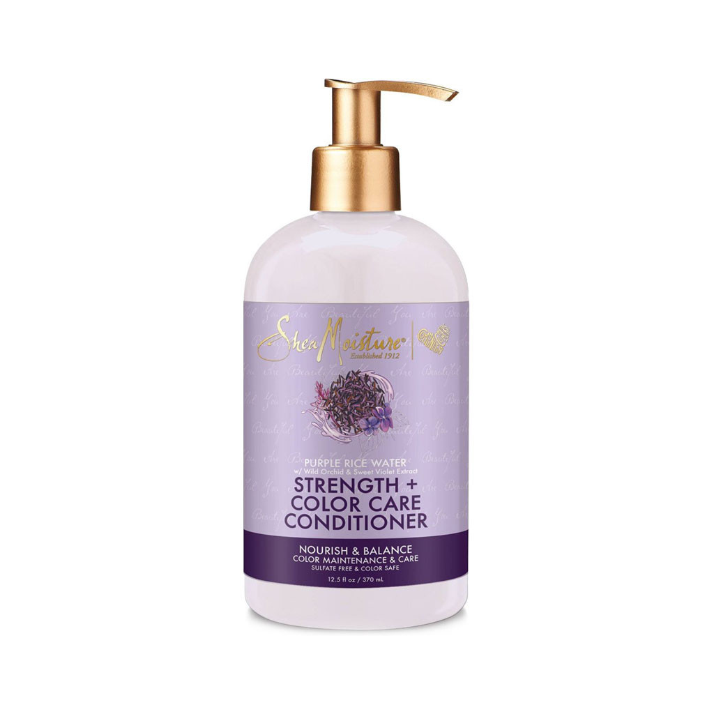 SheaMoisture Purple Rice Water Strength + Color Care Conditioner (13 oz.)