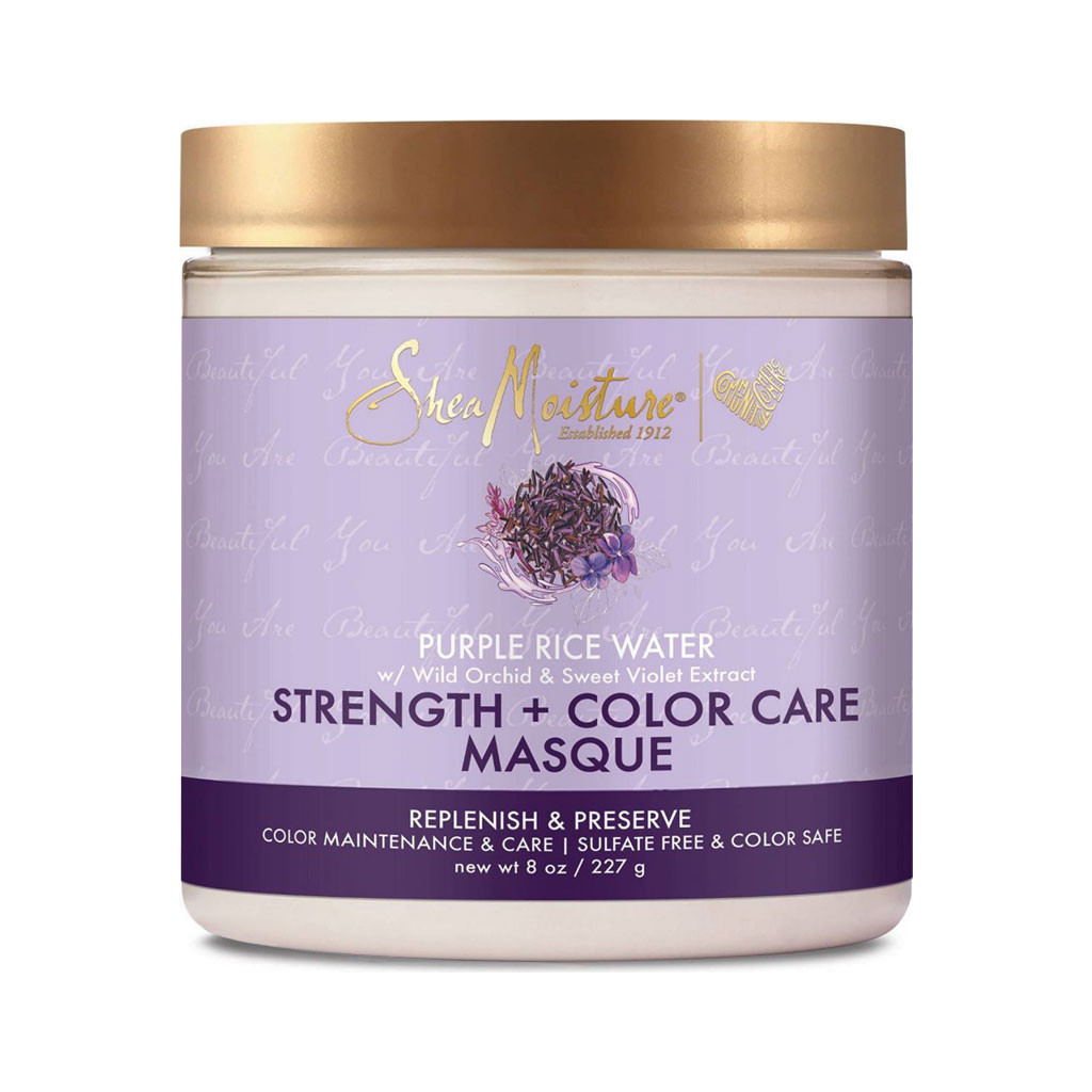 SheaMoisture Purple Rice Water Strength + Color Care Masque (8 oz.)