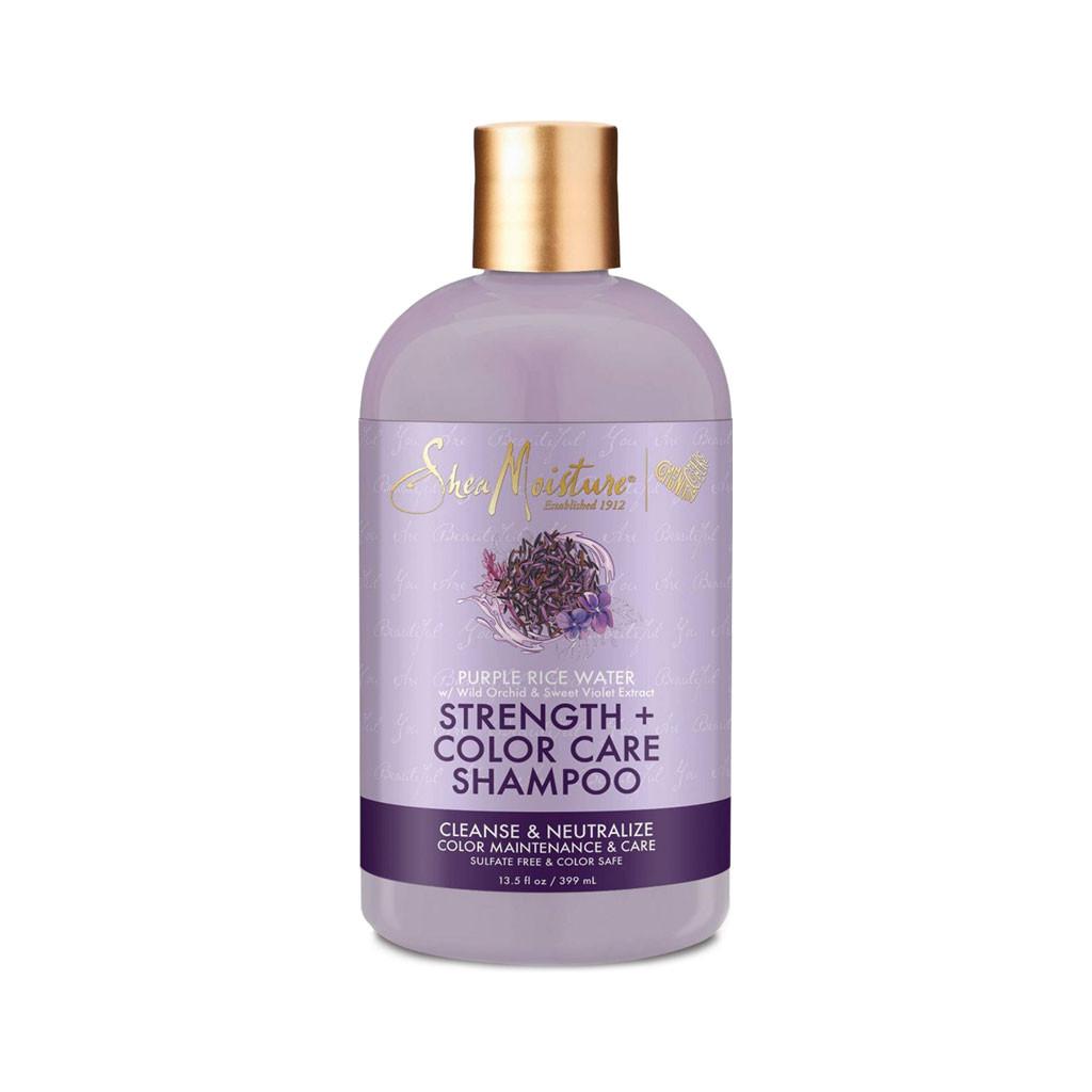 SheaMoisture Purple Rice Water Strength + Color Care Shampoo (13 oz.)