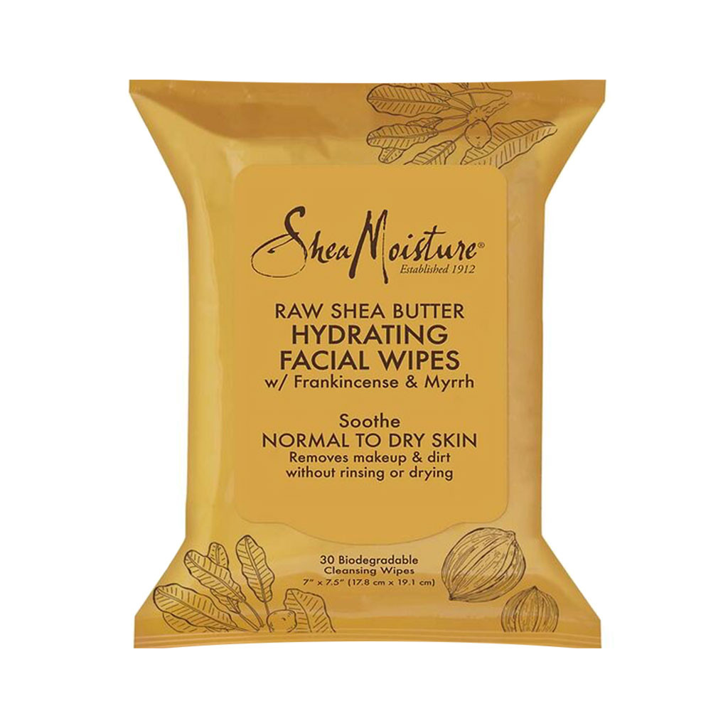 SheaMoisture Raw Shea Butter Hydrating Facial Wipes (30 ct.)