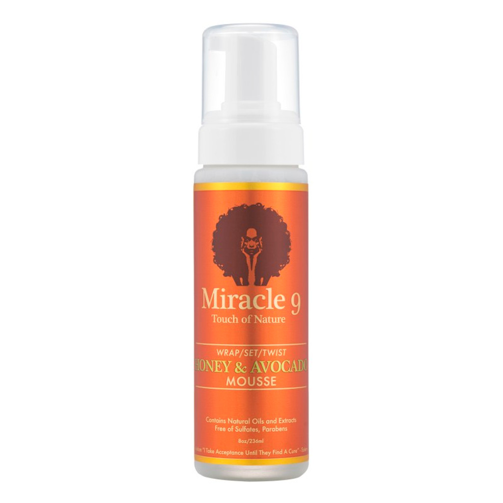 Miracle 9 Touch of Nature Wrap, Set & Twist Honey & Avocado Mousse (8 oz.)