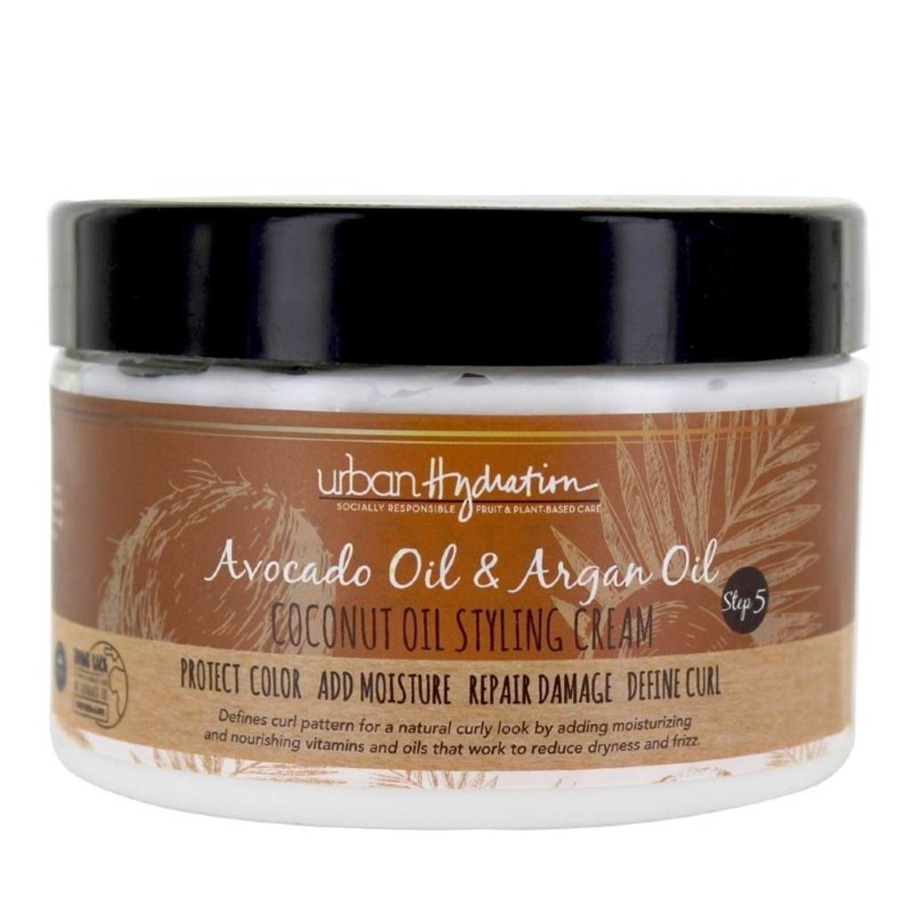Urban Hydration Avocado Oil Argan Oil Coconut Oil Styling Cream 8 45 Oz Naturallycurly