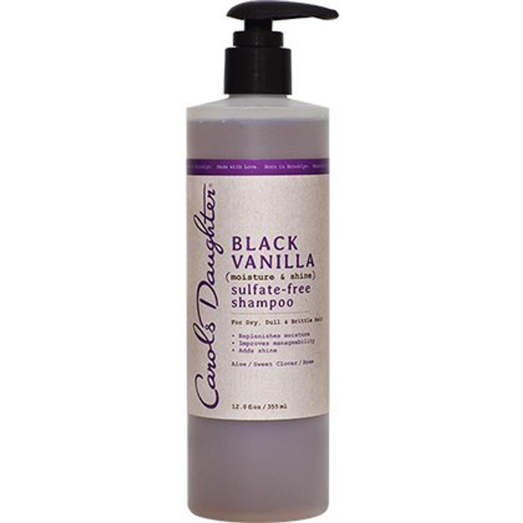 Carol's Daughter Black Vanilla Sulfate-Free Shampoo (12 oz.)