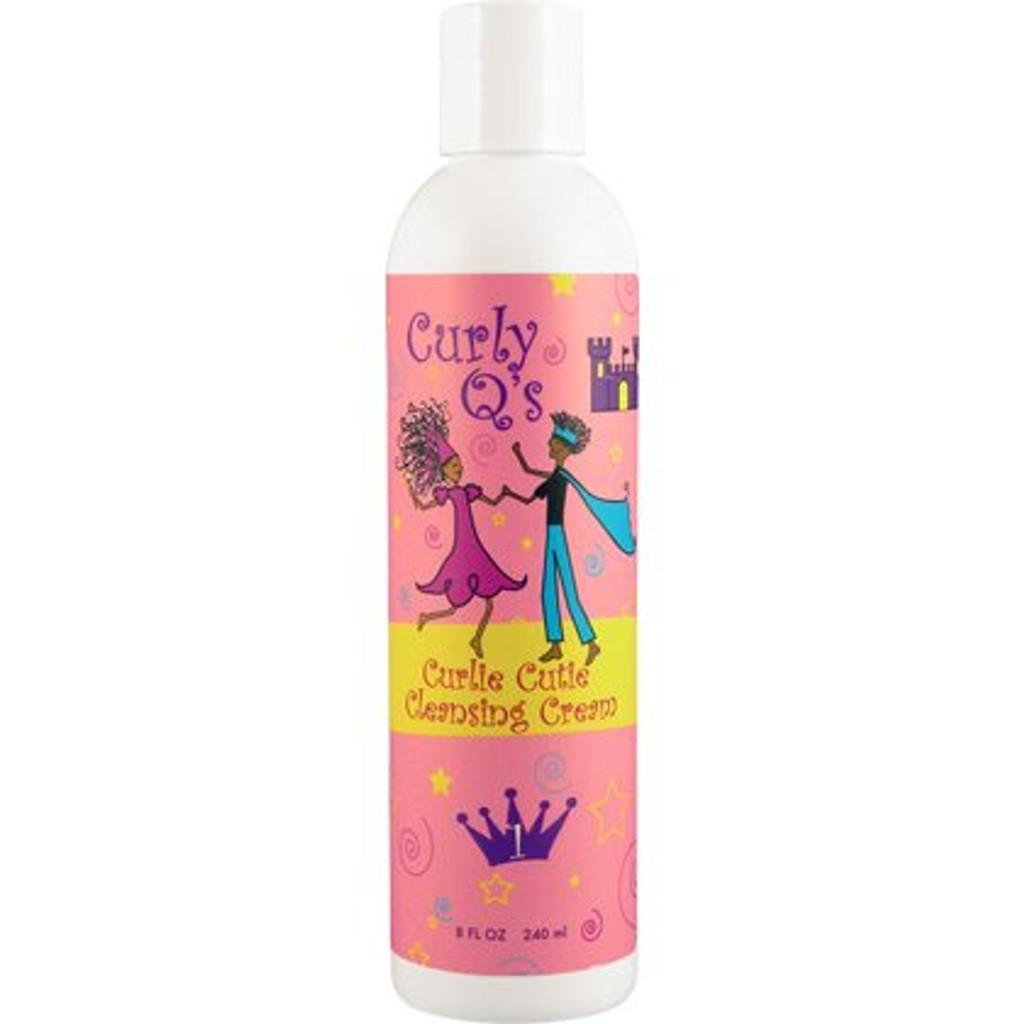 Curly Q's Curlie Cutie Cleansing Cream (8 oz.)
