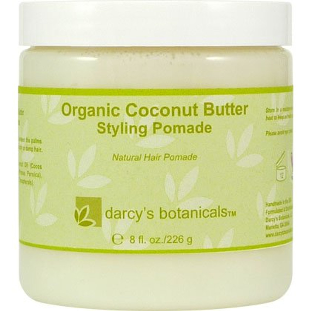 Review: Darcy's Botanicals Organic Coconut Butter Styling Pomade (8 oz.)