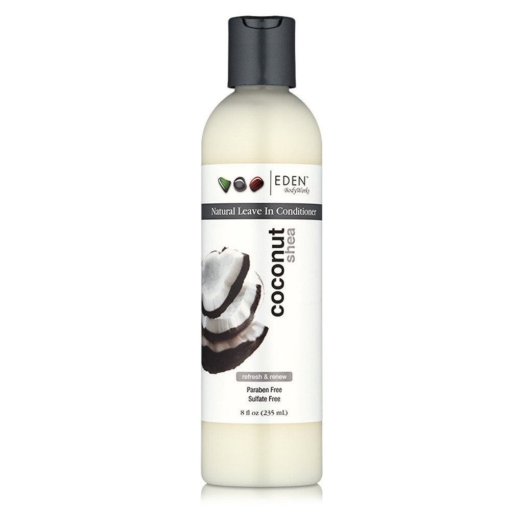 EDEN BodyWorks Coconut Shea Natural Leave-In Conditioner (8 oz.)