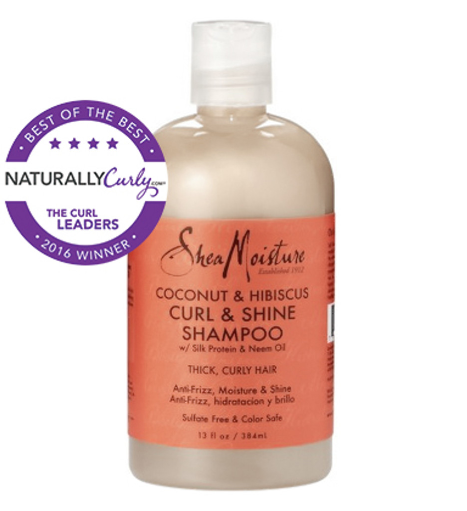 SheaMoisture Coconut & Hibiscus Curl & Shine Shampoo (13 oz.)