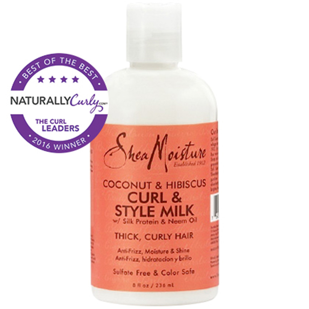 SheaMoisture Coconut & Hibiscus Curl & Style Milk (8 oz.)