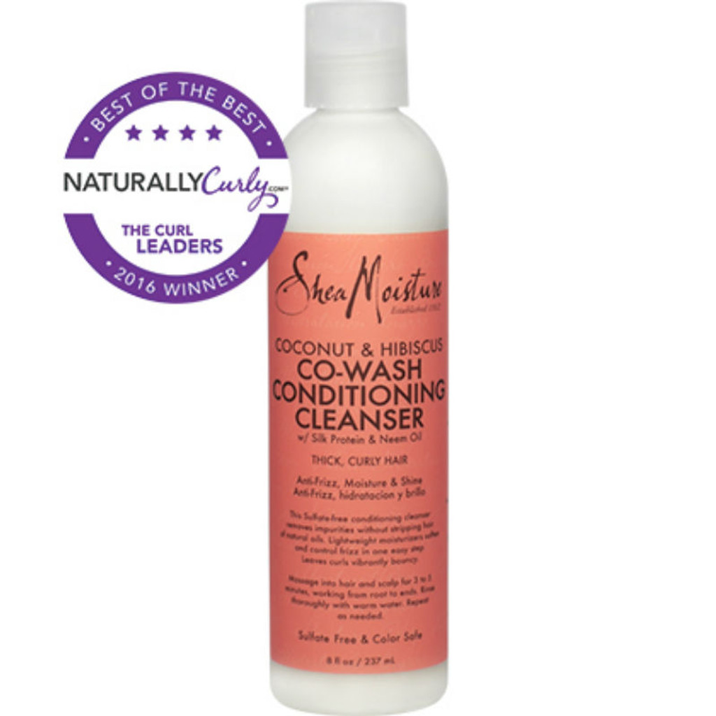 SheaMoisture Coconut & Hibiscus Co-Wash Conditioning Cleanser (8 oz.)