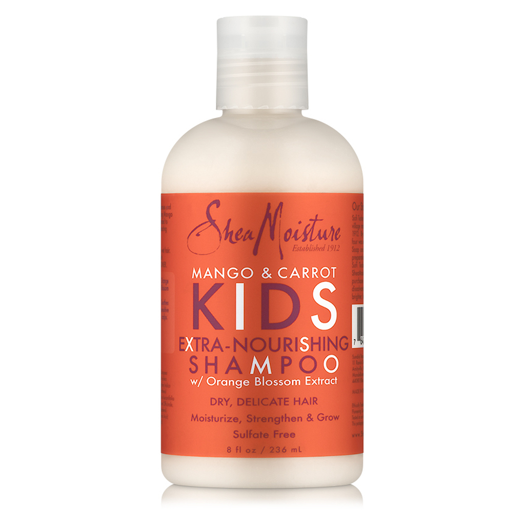 SheaMoisture Mango & Carrot Kids Extra-Nourishing Shampoo (8 oz.)