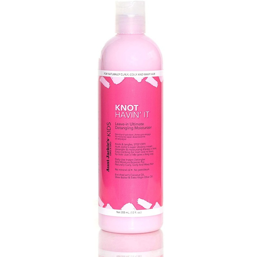 Aunt Jackie's Curls & Coils Kids Knot Havin' It! Leave-In Ultimate Detangling Moisturizer (12 oz.)