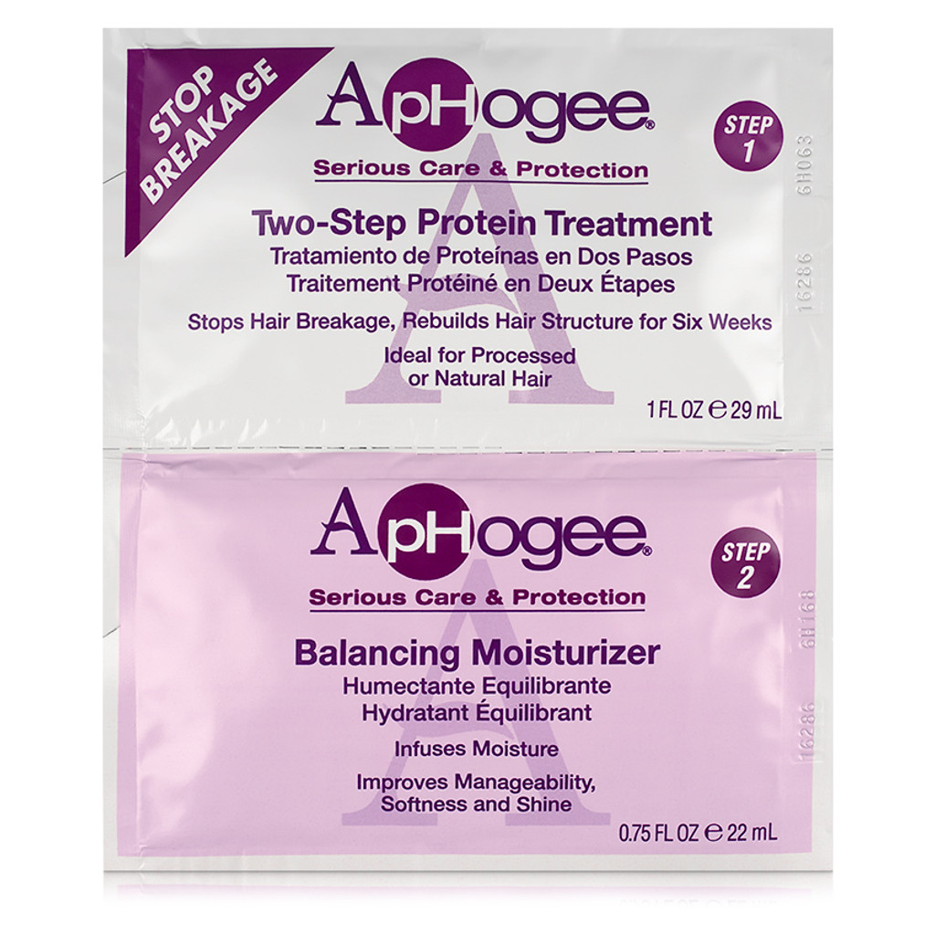 ApHogee Two-Step Protein Treatment & Balanced Moisturizer (1.75 oz.)
