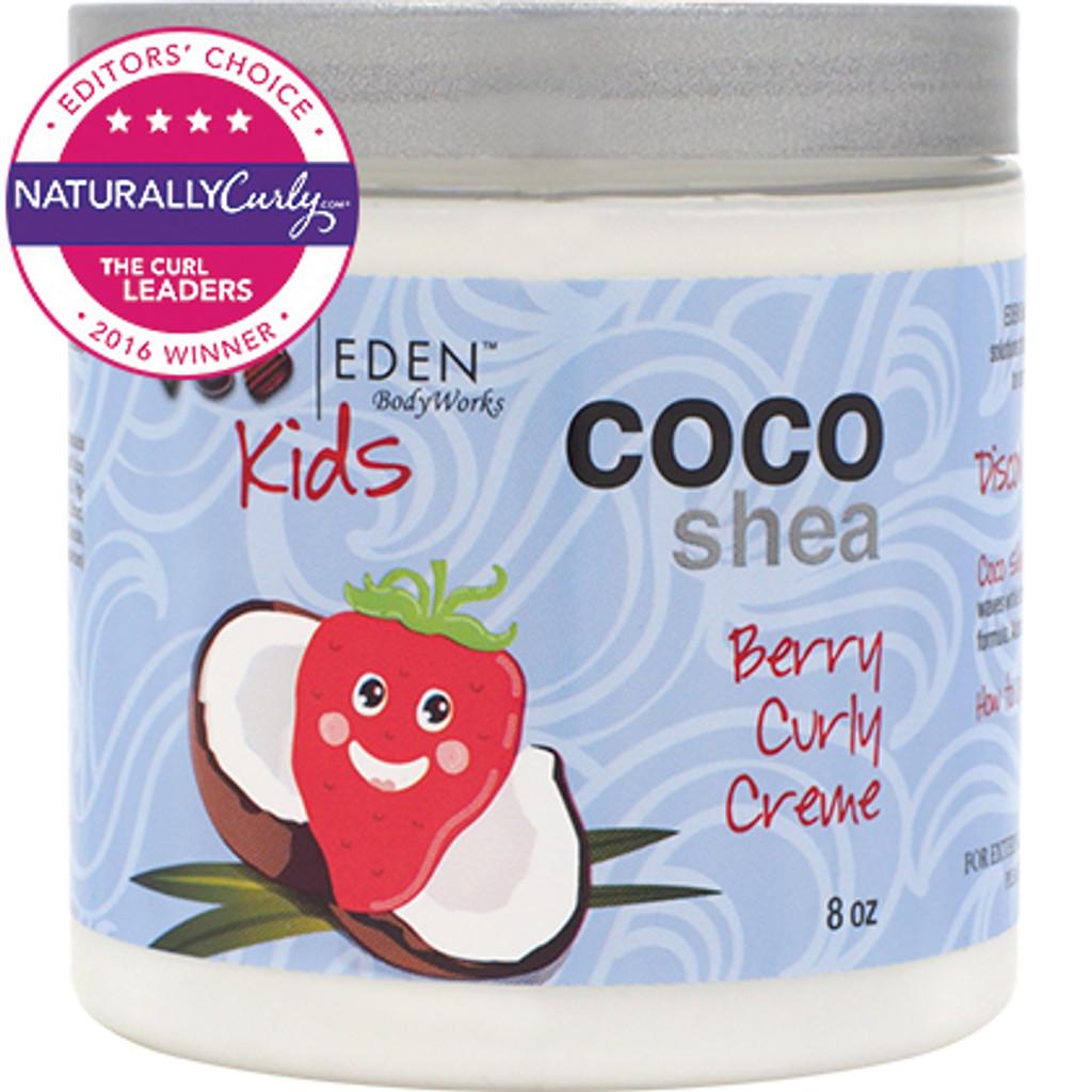 EDEN BodyWorks Kids Coco Shea Berry Natural Curly Creme (8 oz.)