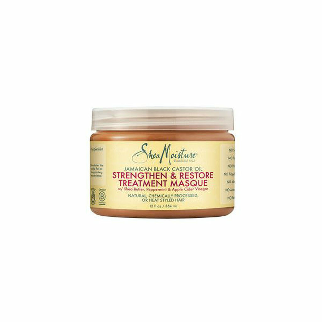 SheaMoisture Jamaican Black Castor Oil Strengthen, Grow & Restore Treatment Masque (12 oz.)