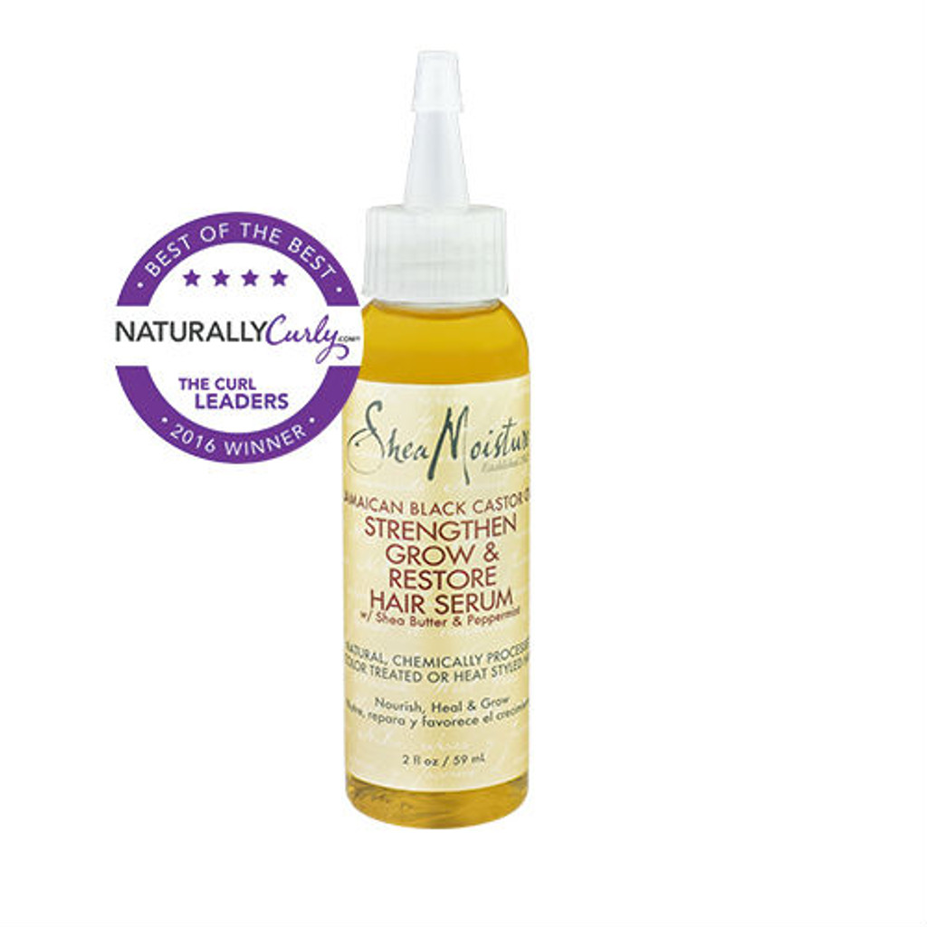 SheaMoisture Jamaican Black Castor Oil Strengthen, Grow & Restore Hair Serum (2 oz.)