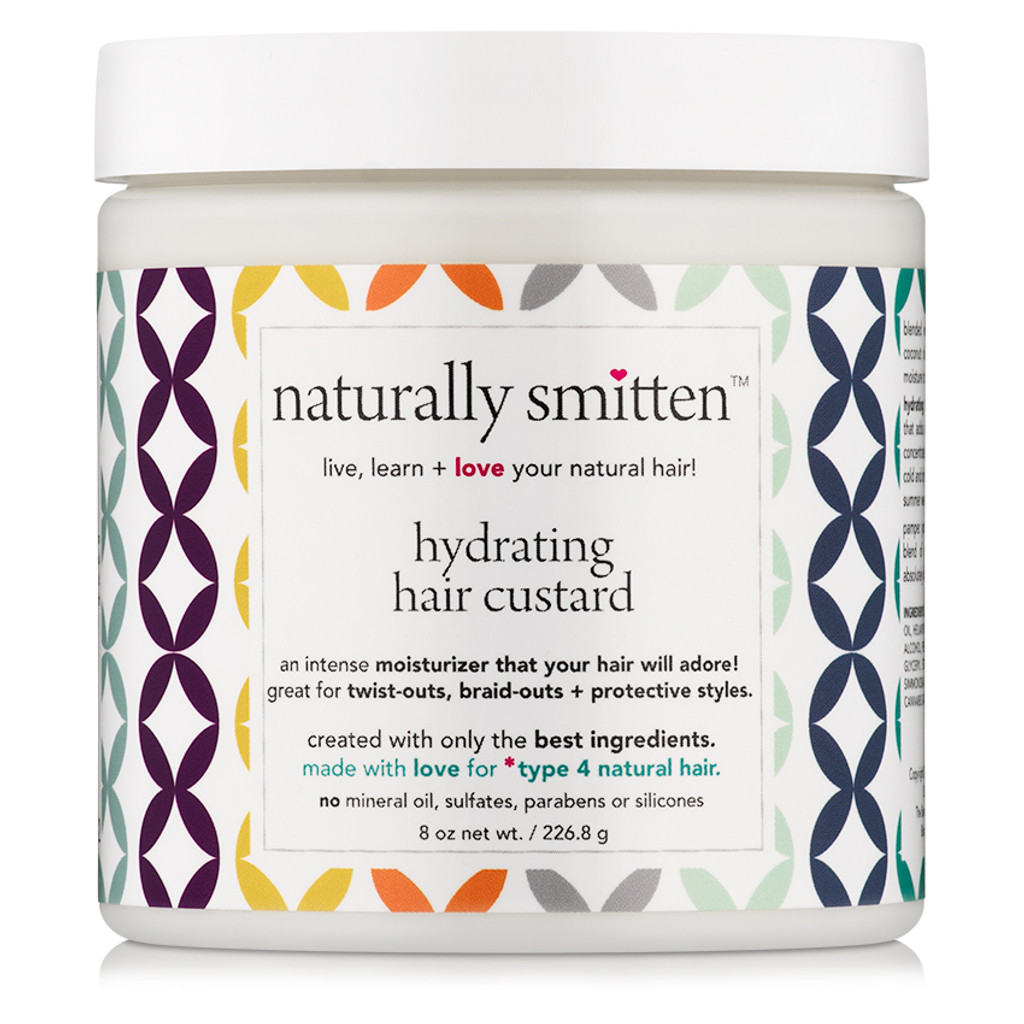 naturally smitten Hydrating Hair Custard (8 oz.)