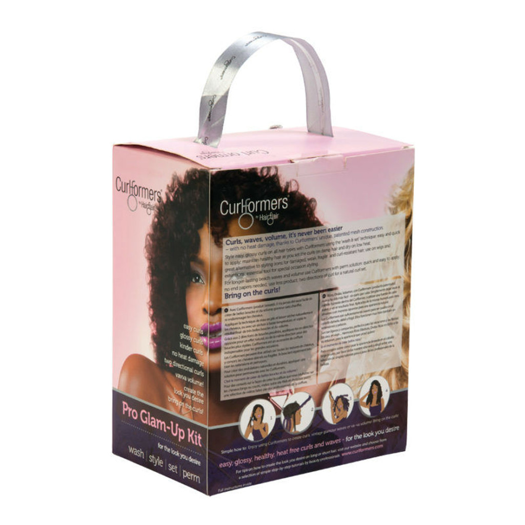 Curlformers by Hair Flair Deluxe Pro Glam-Up Kit for Barrel Curls - Long Hair (16 ct.)