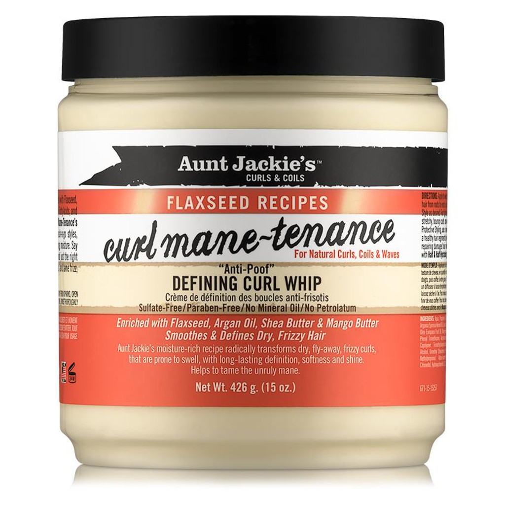 Aunt Jackie's Curls & Coils Flaxseed Recipes Curl Mane-Tenance Defining Curl Whip (15 oz.)