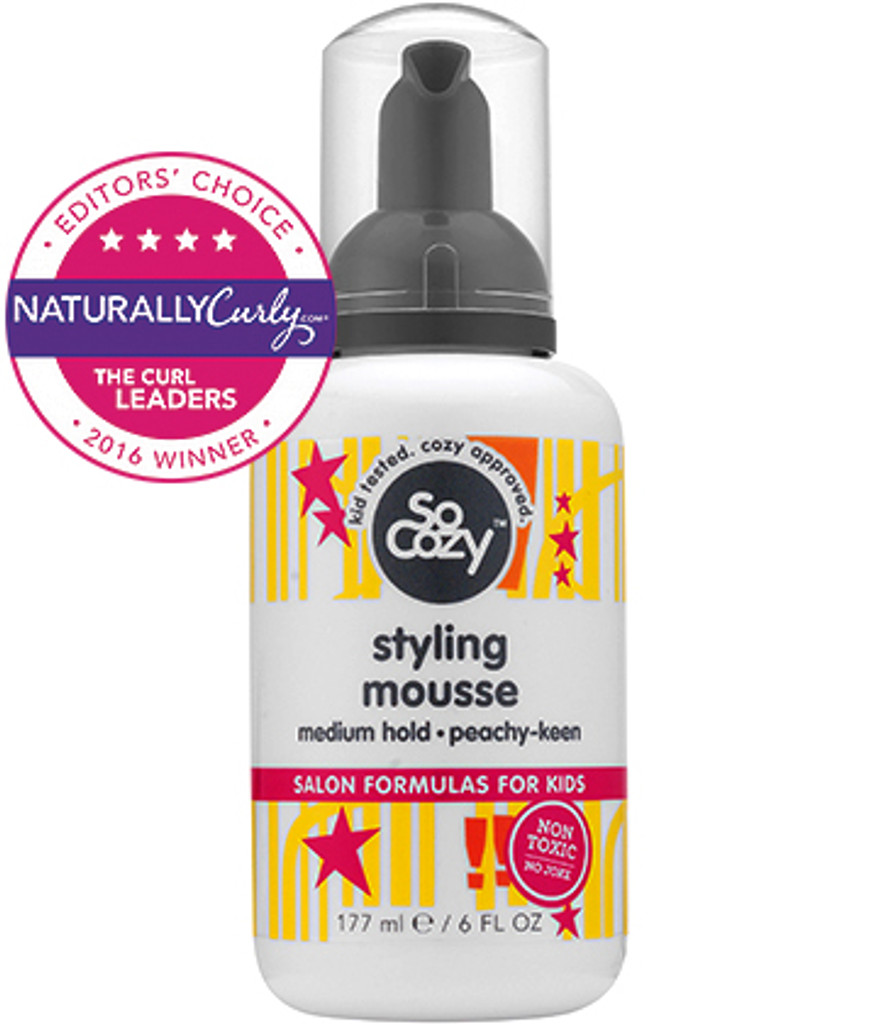 SoCozy Behave Styling Mousse Medium Hold Peachy-Keen (6 oz.)