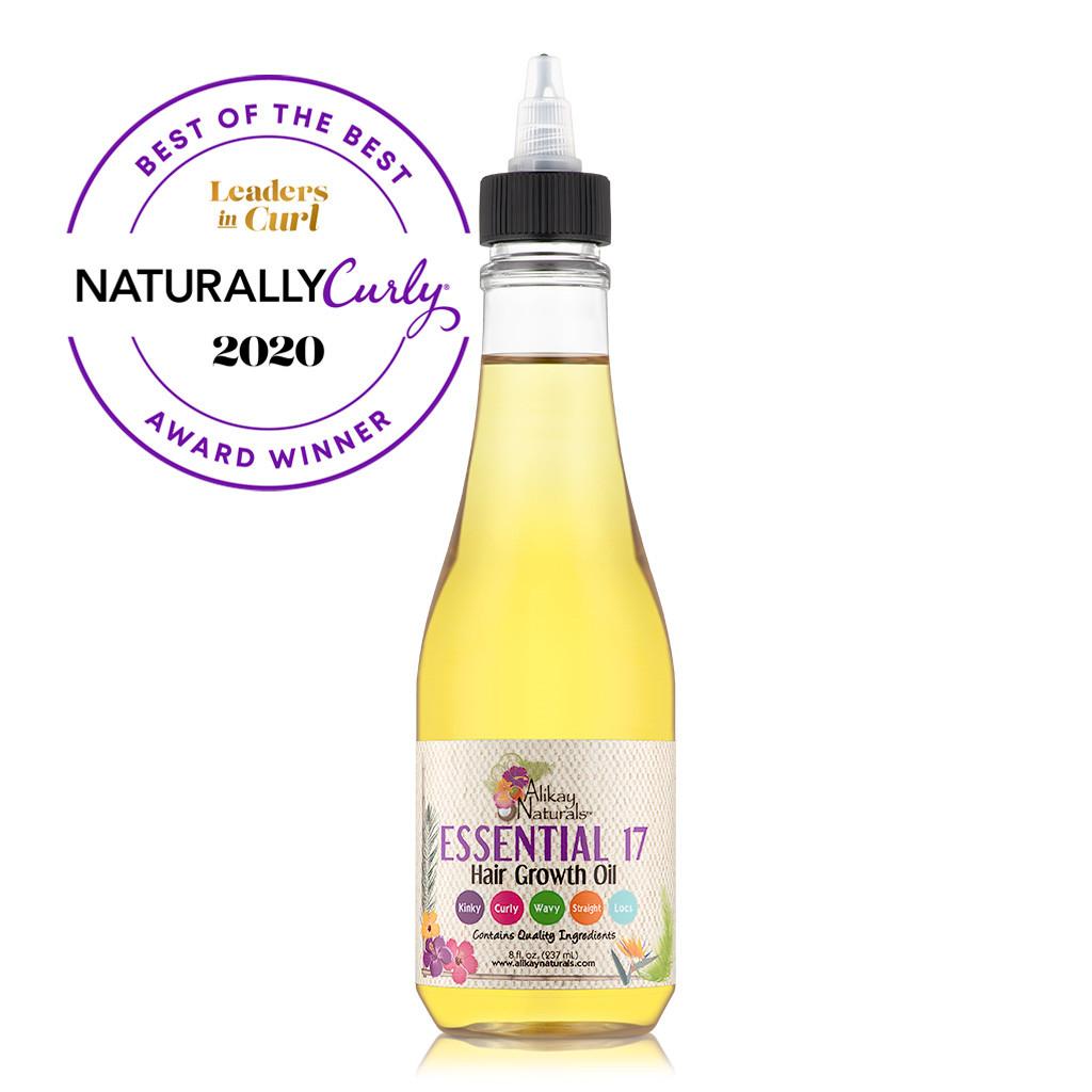 Alikay Naturals Essential 17 Hair Growth Oil (8 oz.)