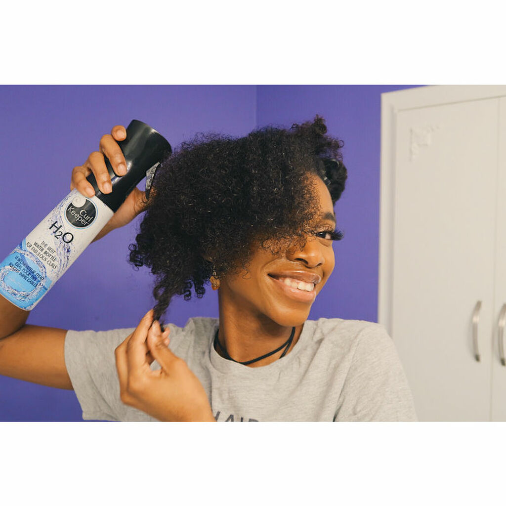 Curly Hair Solutions H20 Water Bottle