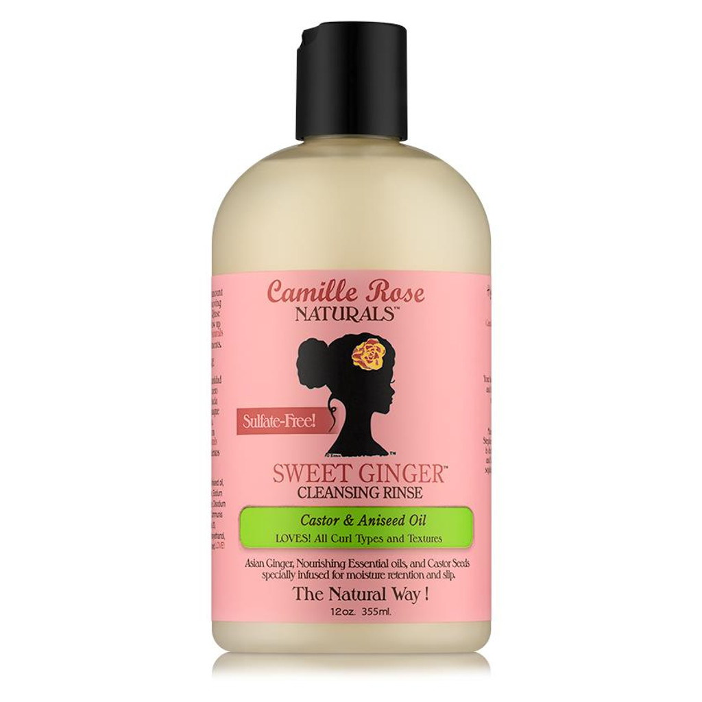 Camille Rose Naturals Sweet Ginger Cleansing Rinse 12 Oz Naturallycurly
