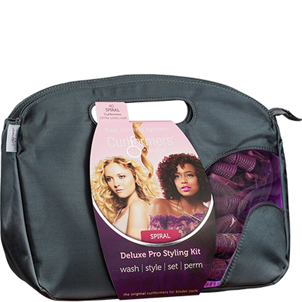 Curlformers by Hair Flair Deluxe Pro Styling Kit for Spiral Curls - Extra Long Hair (40 ct.)